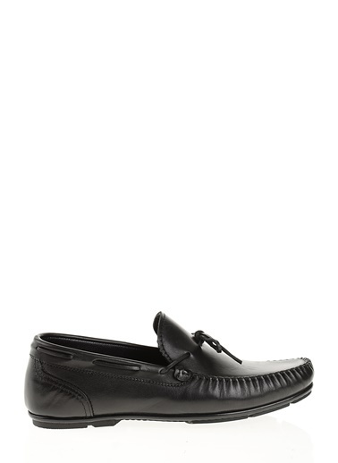 D by Divarese %100 Deri  Casual Ayakkabı Siyah